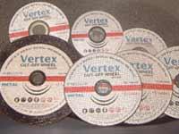 """Отрезные и зачистные круги """"Vertex"""""""